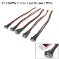 RC lipo battery balance charger plug 3S1P Cable IMAX B6 Connector Plug 22 AWG Silicon Wire (JST-XH 200mm)