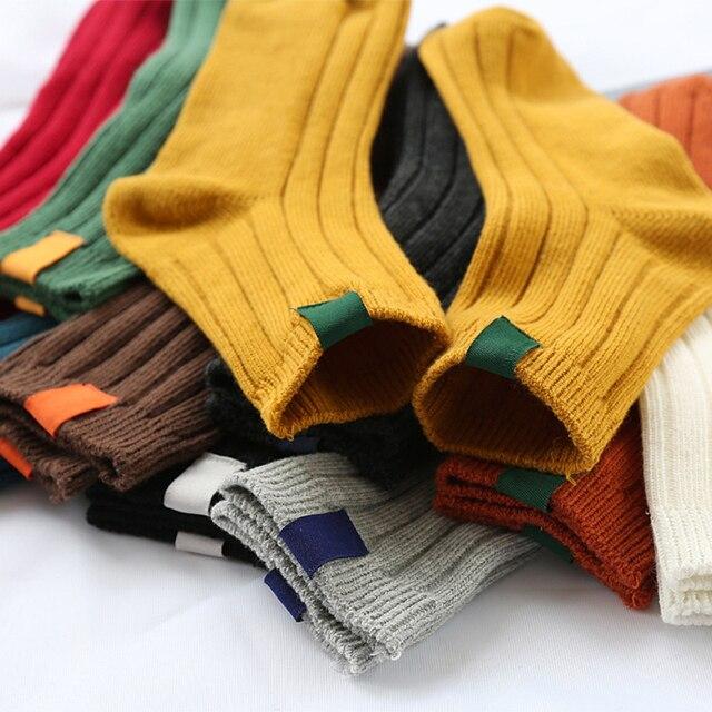 1Pair Warm Women Socks Striped 3D Socks  1