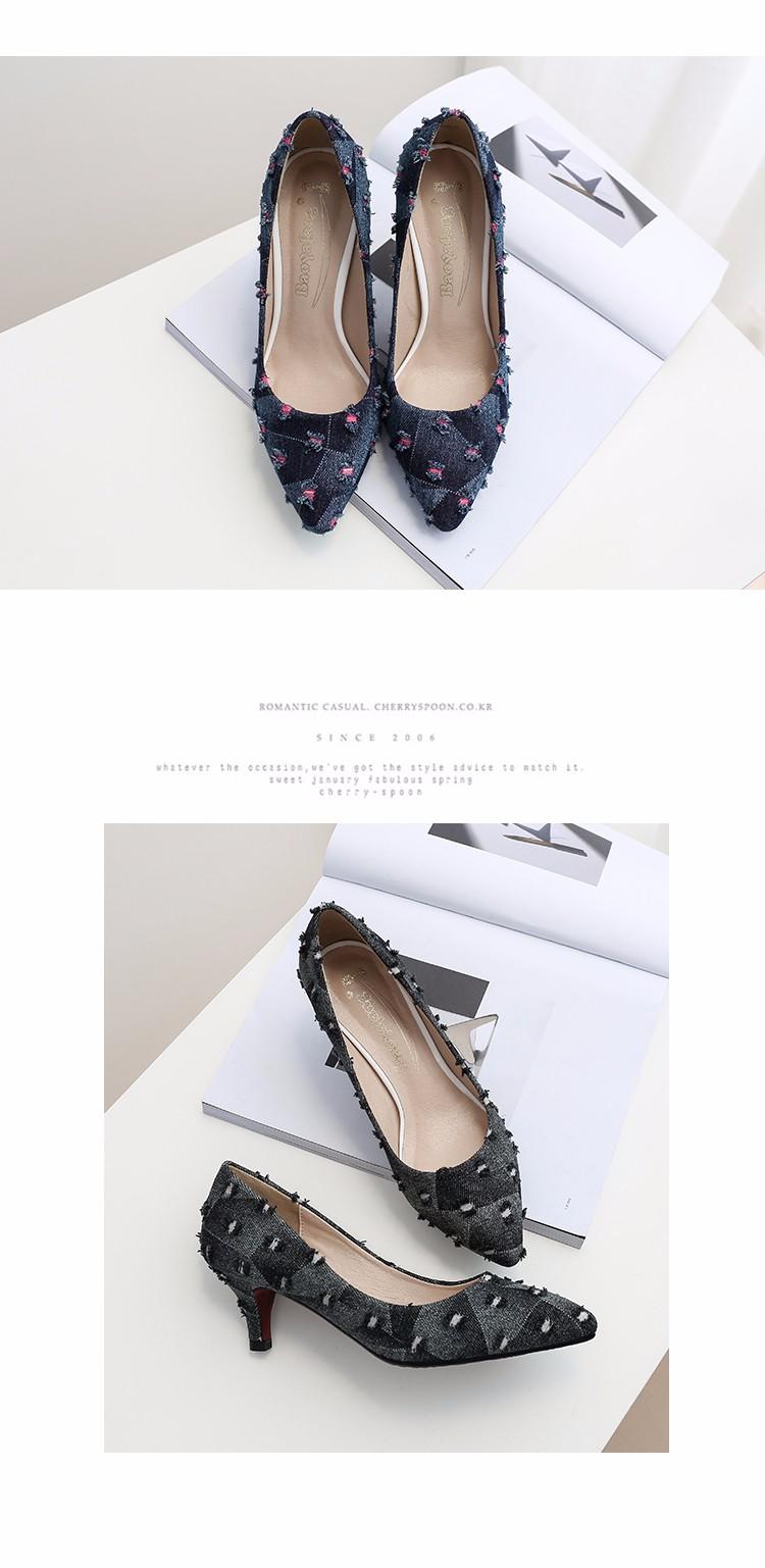 New arrival Denim Ladies Shoes pointed toe high heels Free Shipping! HTB1kfg7SpXXXXcUXFXXq6xXFXXXM