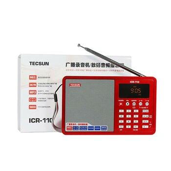 Радиоприемник TECSUN ICR-110, FM/AM, MP3, TF-Card 2