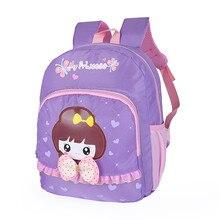 2017 moda Niños lindos Del Bebé Mochila Niños Bolsas Escuela de Dibujos Animados para niñas niños Mochilas Kindergarten mochila escolar