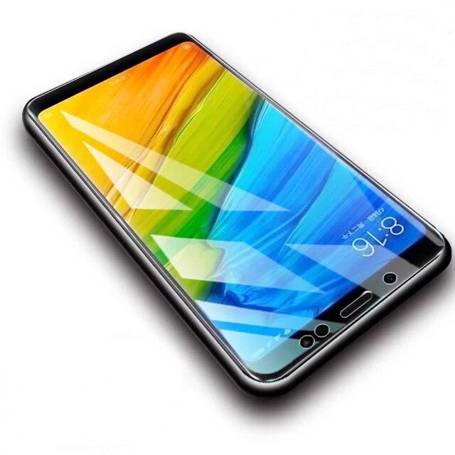 2Pcs/lot Full Tempered Glass For Xiaomi Redmi Note 5 Pro 6 Screen Protector Anti Blu-ray Protector Film For Redmi 5 Plus glass 1