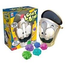 Интерактивная игра LOONY BIN мусорное ведро, Семейные игрушки, самые прикольные крутые игрушки играть с друзьями хит продаж 2018 ,новогодний подарок для детей, сумасшедшие игрушки для мальчиков ,доставка из России