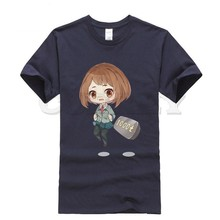 2019 new T-shirt Round neck My Hero Academia Leisure Japan Anime Cartoon Fashion Summer dress men tee Pop Boy cos play Retro