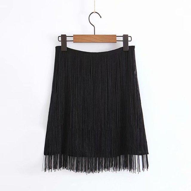 le dernier c5374 24ec1 Noir taille haute couches glands Sexy jupe courte 2019 été une ligne bureau  dame jupes pour femmes Club Mini