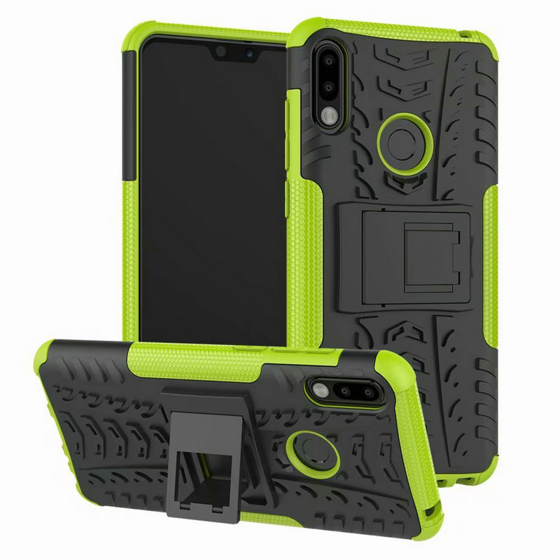 ZB631KL TPU + PC 2 in <font><b>1</b></font> Shock-Proof Rugged Armor Case For <font><b>Asus</b></font> <font><b>Zenfone</b></font> <font><b>Max</b></font> <font><b>Pro</b></font> (M2) ZB631KL Phone <font><b>360</b></font> Kickstand Cover ZB633KL image