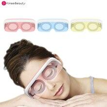 LED Eye Mask Electric Massager Machine 3 Colors LED Photon Rejuvenation Constant-Temperature Beauty Eye Massage Care Instrument цена в Москве и Питере