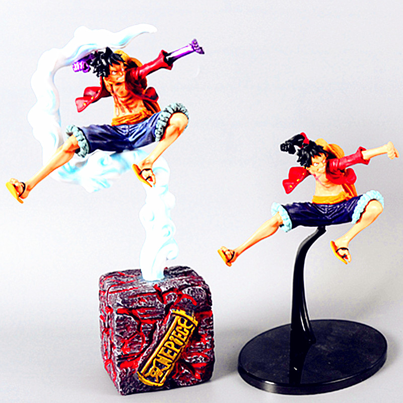 One Piece Monkey D. Luffy SNK VS CAPCOM Statue Super Repainting Arm Battle Ver PVC Action Figure Eiichiro Oda Mobel Toy L2605 free shipping 5 pcs lot si4463 b1b fmr si4463 44631b qfn48 new in stock ic