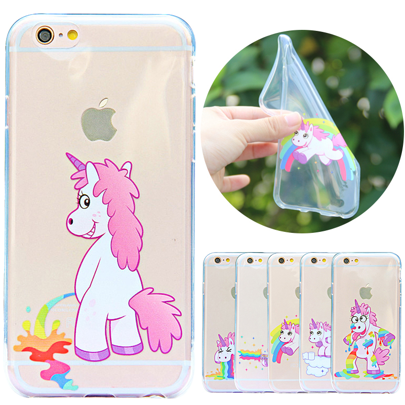Clear Silicone Iphone  Case