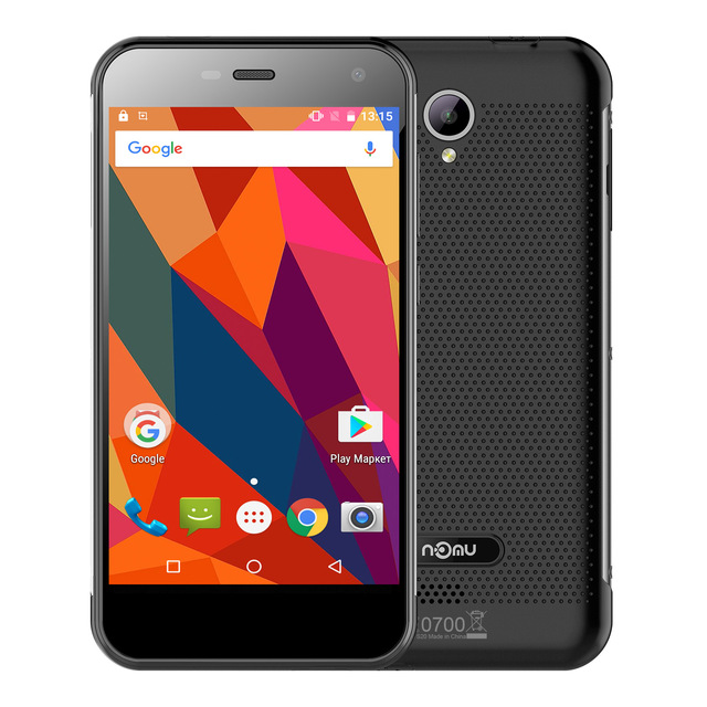 Nomu S20 Android 6.0 Mobile Phone 5.0 Inch 4G Smartphone MTK6737 1.5GHz Quad Core 3GB+32GB Waterproof IP68 3000mAh Cellphone