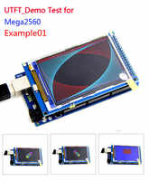 1 stücke 3,2 inch TFT LCD screen modul Ultra HD 320X480 für MEGA 2560 R3 Bord