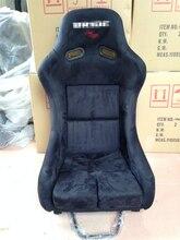 One Lot/2 Pcs Buckets Series Car Seats MRA Fiberglass Frame Black Blue Red Alcantara Suede Cloth Racing Car Bucket Seats