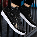 Men's sneakers large size 39-45 sequined cloth bling fashion brand sneakers for boys hard-wearing fashion male sneakers