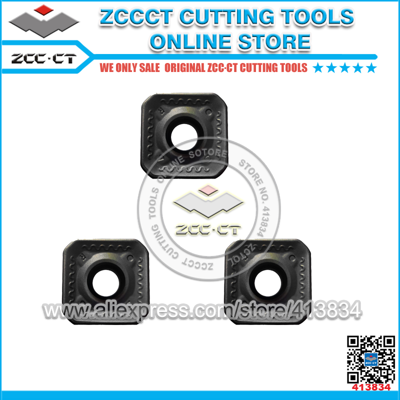 ZCC milling cutter SEET12T3 CR YBG202 Original ZCC CT Cemented Carbide CNC Milling Inserts Cutting Tool