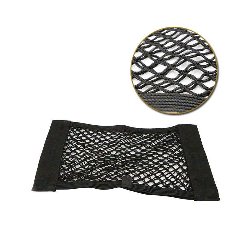 40 * 25 cm Black Car Trunk Nylon Rope Net /luggage net with backing For Skoda Octavia Fabia Rapid Superb Yeti Roomster