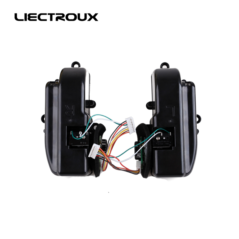 (For B2005 PLUS B3000 PLUS) For LIECTROUX robot vacuum cleaner, wheels with Motor Includes 1*Left Wheel + 1 Right Wheel