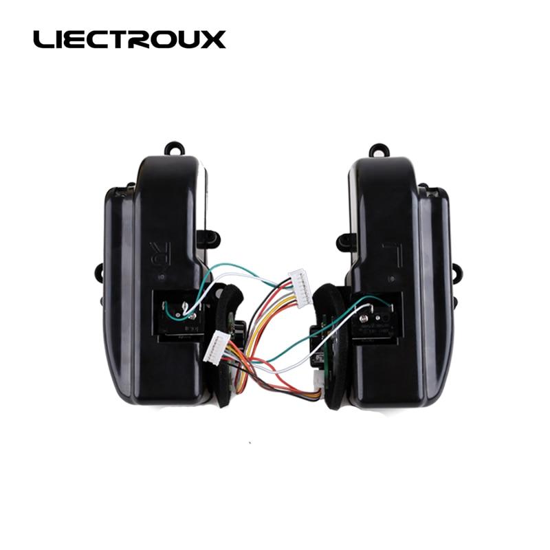 (Para b2005 Plus b3000 Plus) Conjunto de rueda izquierda y derecha, con rueda Motores dentro, 1 Pack incluye 1 * rueda izquierda + 1 rueda derecha