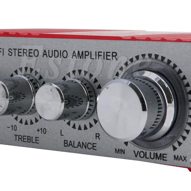 Special Price 2018 NEW  MA-180 DC12V 2-CH Mini Hi-Fi AMP Stereo USB Car Boat Audio Auto Power Amplifier