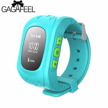 GAGAFEEL Children GPS Tracker Smart Watch SOS Call Location Finder for Kid Boy's Girl's OLED Smart Watches for iOS Android