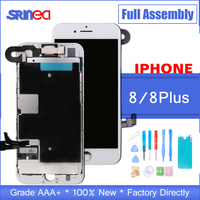 Full Assembly For iPhone 8 Plus OEM LCD Completed With Camera Speaker i Phone 8P Screen Replacement Display With 3D Touch ID