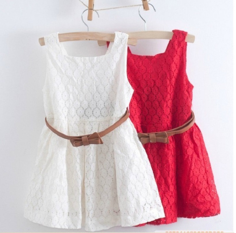Aliexpress.com : Buy classic solid white red dress for toddler big ...