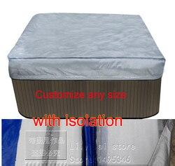 Whirlpool spa abdeckung tasche mit isolation innen, size2210x2320x300 mm 87 x 91. X 12 in.) können Fertigen jede form und größe