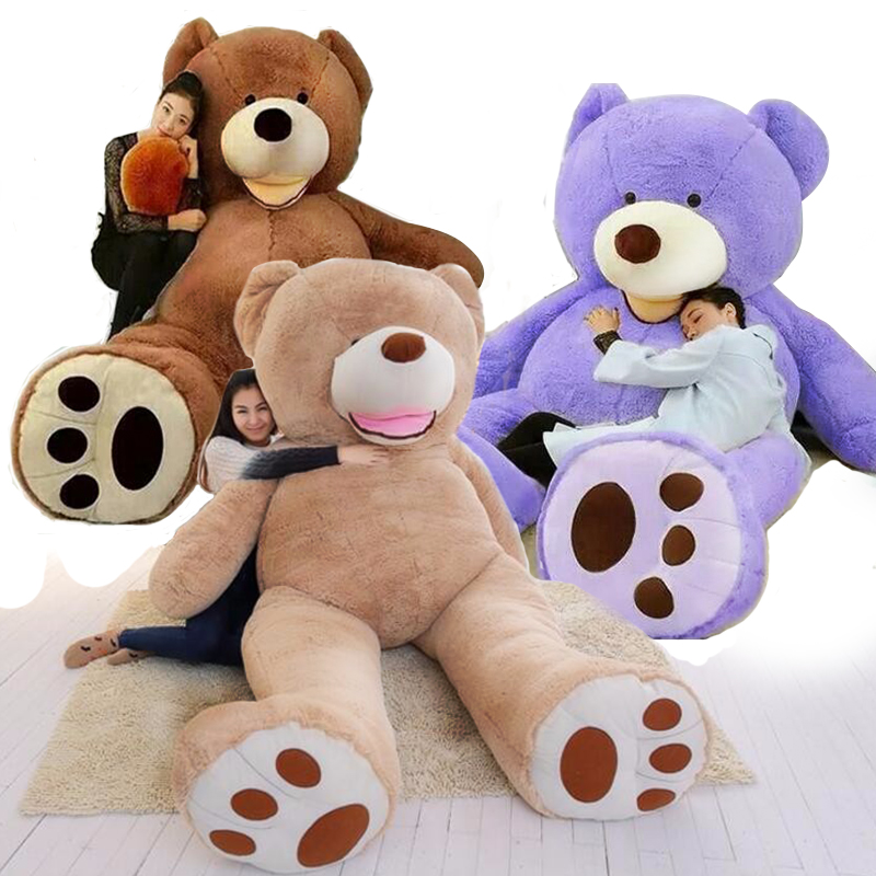 Kawaii 340CM King American Giant Bear Teddy Bear Doll Stuffed Animal King Bear Oversized Plush Toys Doll For Kids Birthday Gift mini kawaii plush stuffed animal cartoon kids toys for girls children baby birthday christmas gift angela rabbit metoo doll