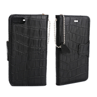 Genuine Leather Phone Case For IPhone X 8 Cellphone Natural Real Crocodile Leather Card Phone Cover