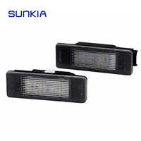 SUNKIA LED Number License Plate Light for Mercedes Benz Sprinter(W906) (2006~) VITO(W639) (2003-2014) Viano(W639) (2003-2014)