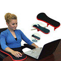 Computer Arm Support Mouse Pad Wrist Hand Shoulder Rest Mat Double Attachment Ergonomic Attachable For Table Chair/Desk Extender