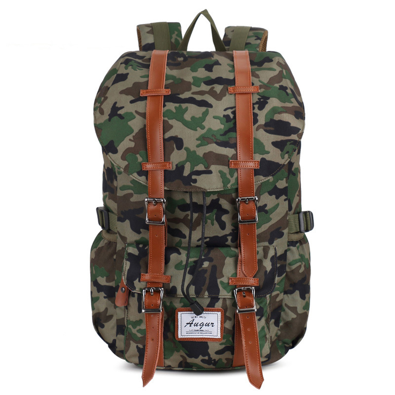 New Fashion Travel Backpack Wear-resistant Western Style  Nylon Bag Outdoors Riding Mountaineering Travel Shoulder Bags retrospect of western travel