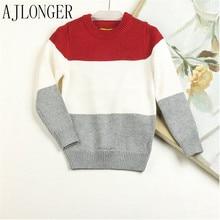 Autumn Winter Boy Sweater European American Fashion Coat Children