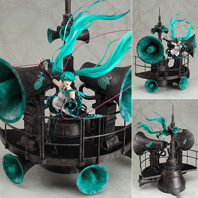 Hatsune Miku painted anime figure painted 1/8 scale miku model dolls collectible Statue figures kids  Christmas gift F7736Hatsune Miku painted anime figure painted 1/8 scale miku model dolls collectible Statue figures kids  Christmas gift F7736