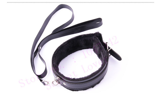 4 color PU Leather bdsm collar Plush Neck Sex Collar Fetish Bondage Adult Games Slave Restraint erotic Sex Toys For Couples.