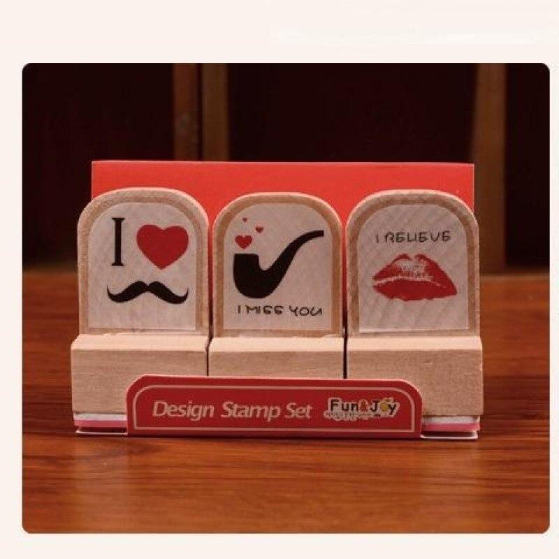 coffee, Stamp, Set, Love, DIY, mustache