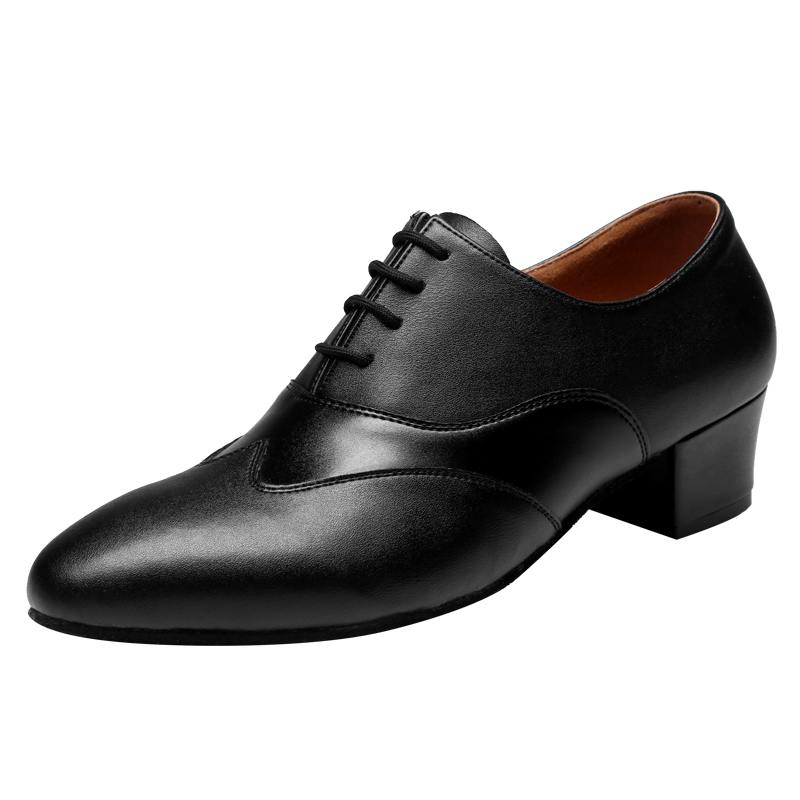Leather Shoes Mens Adult Sports Male Dance Latin Modern Fitness Dance Shoes With Soft Bottom Sneaker