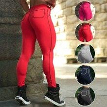 Ladies High Waist Pocket Sport Leggings Adventure Time Women Sexy Red Package Hip Push Up Yoga Pants Bodycon Sport Yoga Leggings