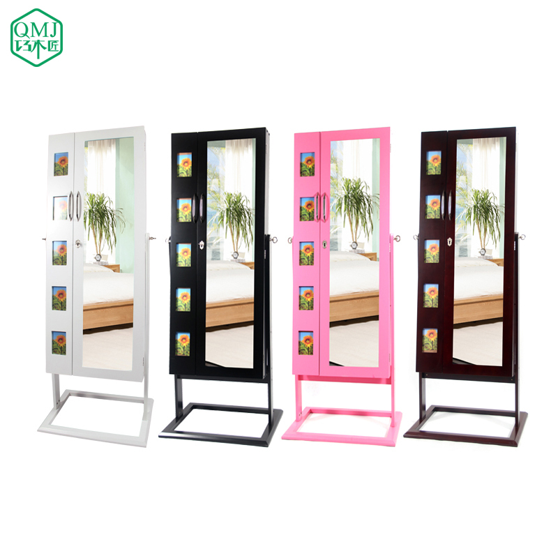 Beau NEW Luxury Four Colors Large Vintage Mirror With Jewelry Cabinet Bedroom  Furniture For Sale Makeup Organizer Makeup Cabinet In Living Room Cabinets  From ...