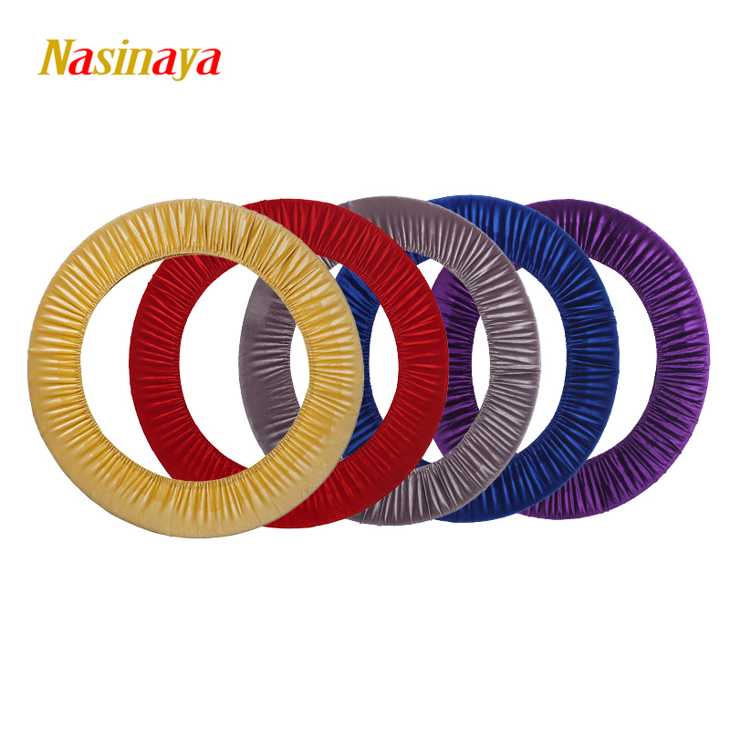24 Colors Artistic Gymnastic Protective Case Cover Hoop Velvet Material Rhythmic Gymnastics Hoop Ring RG Appratus Accessory Hula