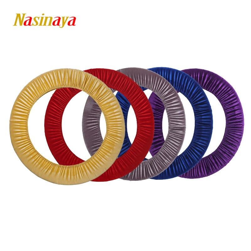 24 Colors Artistic Gymnastic Protective Case Cover Hoop Velvet Material Rhythmic Gymnastics Hoop Ring RG Appratus Accessory Hula