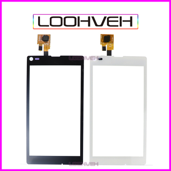 "10Pcs/lot 4.3"" For Sony Xperia L S36H C2105 C2104 Touch Screen Digitizer Front Glass Lens Sensor Panel High Quality"