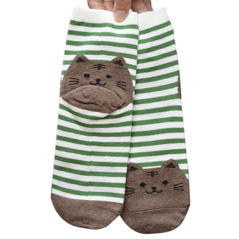 Cute Socks With Cartoon Cat For Cat Lovers Cute Socks With Cartoon Cat For Cat Lovers HTB1kfn0QVXXXXc