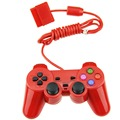 Wired Controller Double Vibration Gamepad Joystick Joypad For PS2 Playstation 2