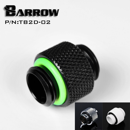 Barrow G1/4 '' dual external thread connection double male adapter thread connector for water cooling system TB2D-02 magnetic building block sets skills educational game