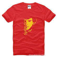 Sherlock Holmes Face T-Shirt
