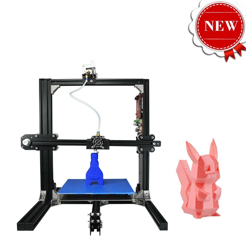 3D Machine Impressora 3D Professional 3D Printer DIY Kit Prusa I3 Desktop PLA One Button Printing 2017 New Launch 2017 newest tevo tarantula prusa i3 3d printer diy kit