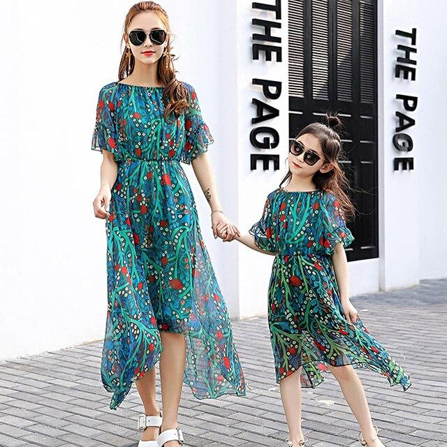 Mutter und tochter prinzessin kleid familie passender kleidung ...