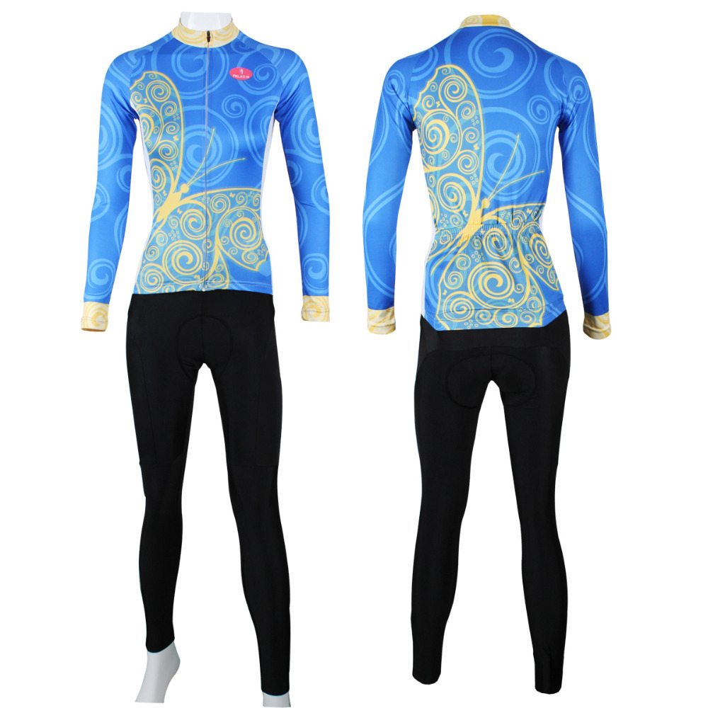 2017 Mavic Ropa Ciclismo Hombre Arabesques Women Polyester Long Sleeve New Butterfly Pattern Bicycle Bike Clothes Size Xs-6xl  2017 mavic maillot ciclismo zebra pattern men personality long sleeve cycling breathable bike bicycle clothes polyester s 6xl