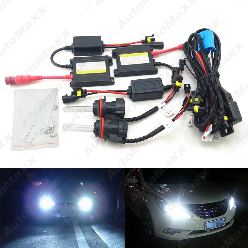 10Sets Car Headlight 9004 9007 Xenon Bulb Hi/Lo Beam Bi-Xenon Bulb Light 35W DC 12V Slim Ballast HID Kit #J-4477  car headlight hid xenon kit slim ballast 12v 35w dc h4 3 9004 3 9007 hi lo 9012 5012 h13 bi xenon hi lo
