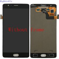 Highbirdfly For Oneplus 3T A3010 A3003 Not For 3 Lcd Screen Display Touch Glass DIgitizer Frame